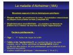 la maladie d alzheimer ma5
