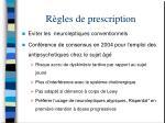 r gles de prescription63