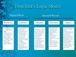 temchild s logic model