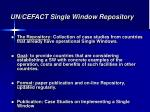 un cefact single window repository
