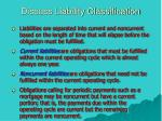 discuss liability classification