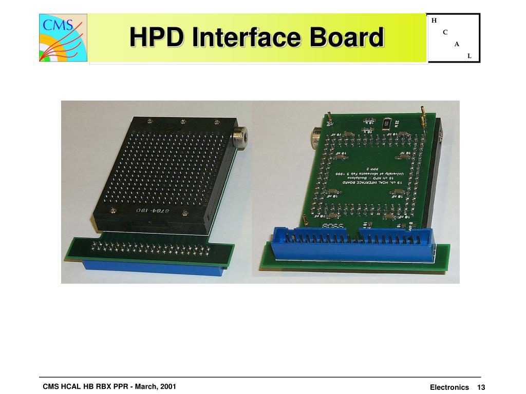 HPD Interface Board