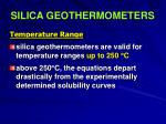 silica geothermometers30
