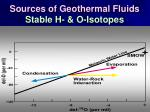 sources of geothermal fluids stable h o isotopes71