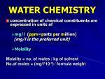 water chemistry3