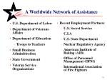 a worldwide network of assistance