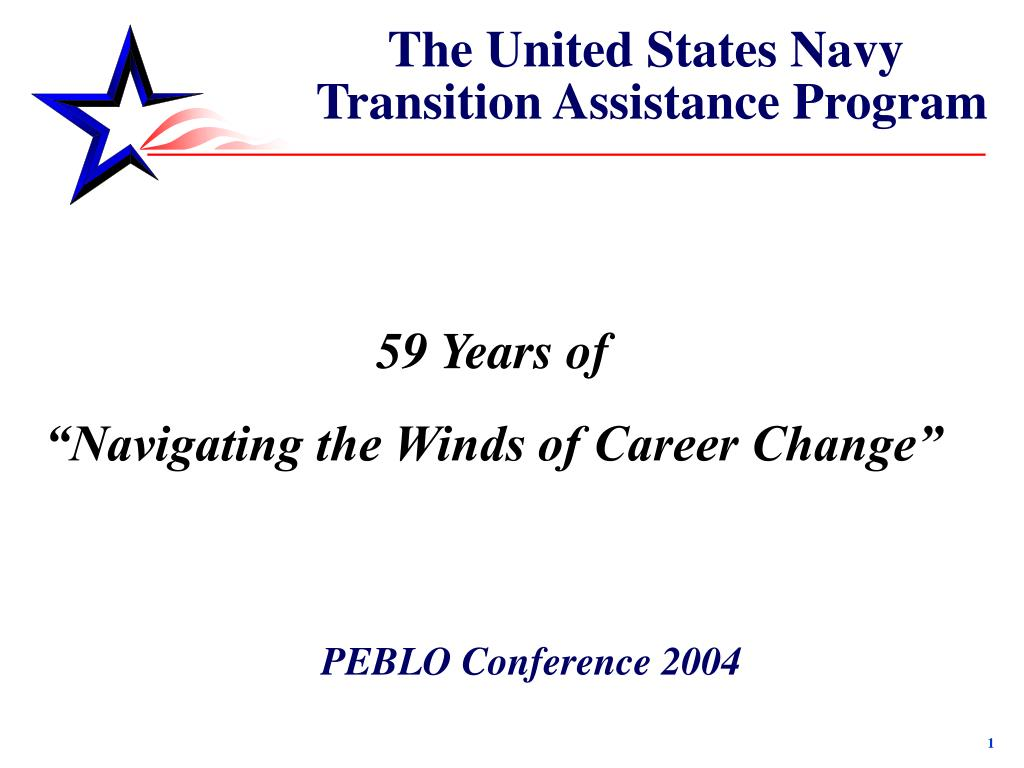 the united states navy transition assistance program l.