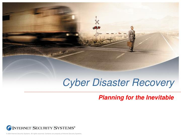 Cyber disaster recovery