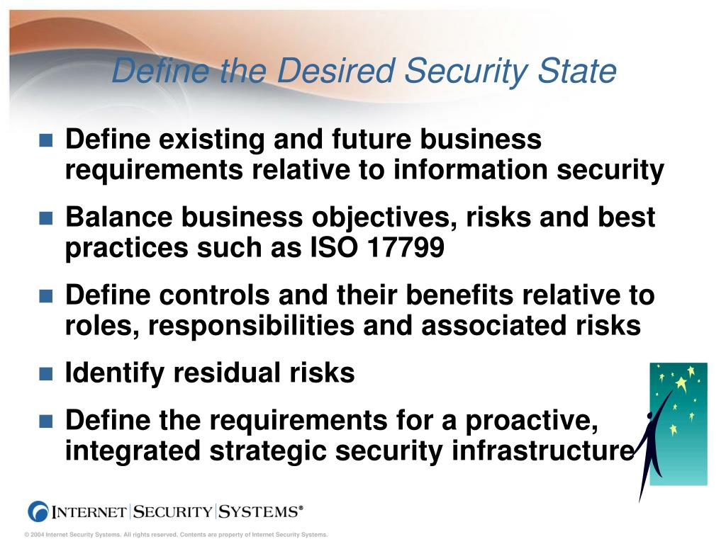 Define the Desired Security State