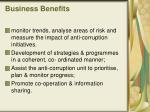 business benefits