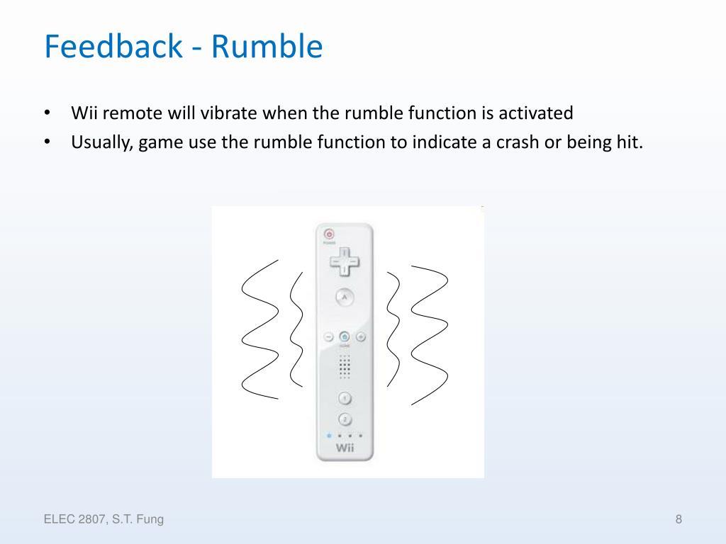 Feedback - Rumble