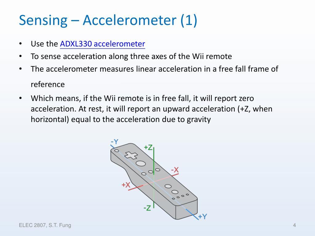 Sensing – Accelerometer (1)