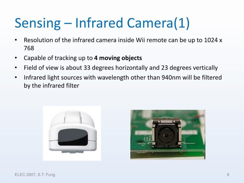 Sensing – Infrared Camera(1)