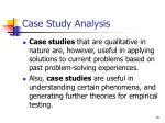 case study analysis18