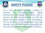 safety pledge