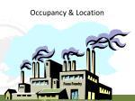 occupancy location
