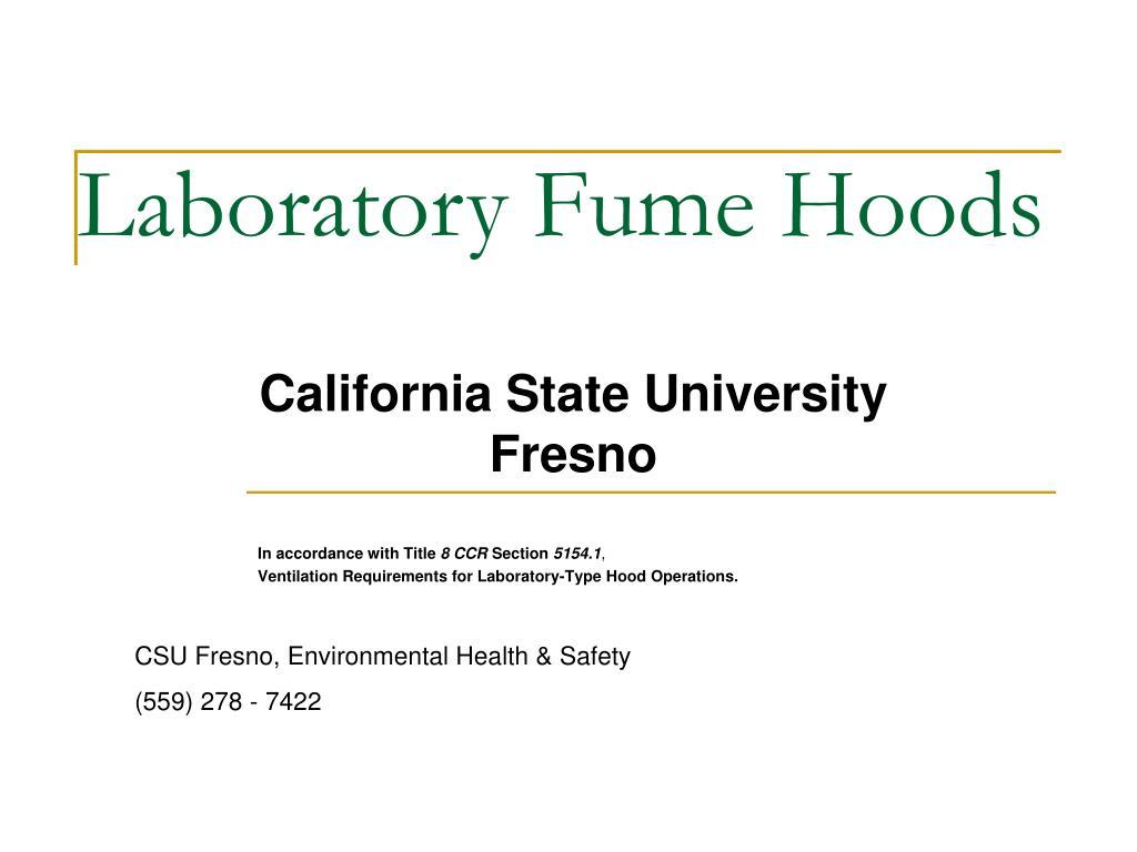 laboratory fume hoods l.