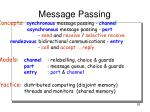 message passing2