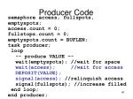 producer code1
