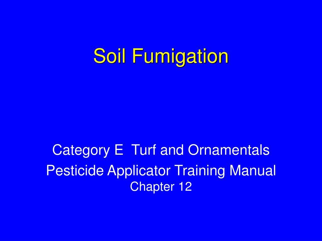 soil fumigation l.