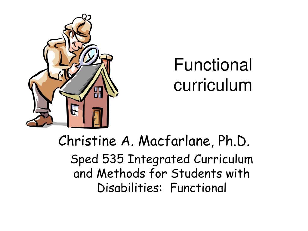 Functional curriculum