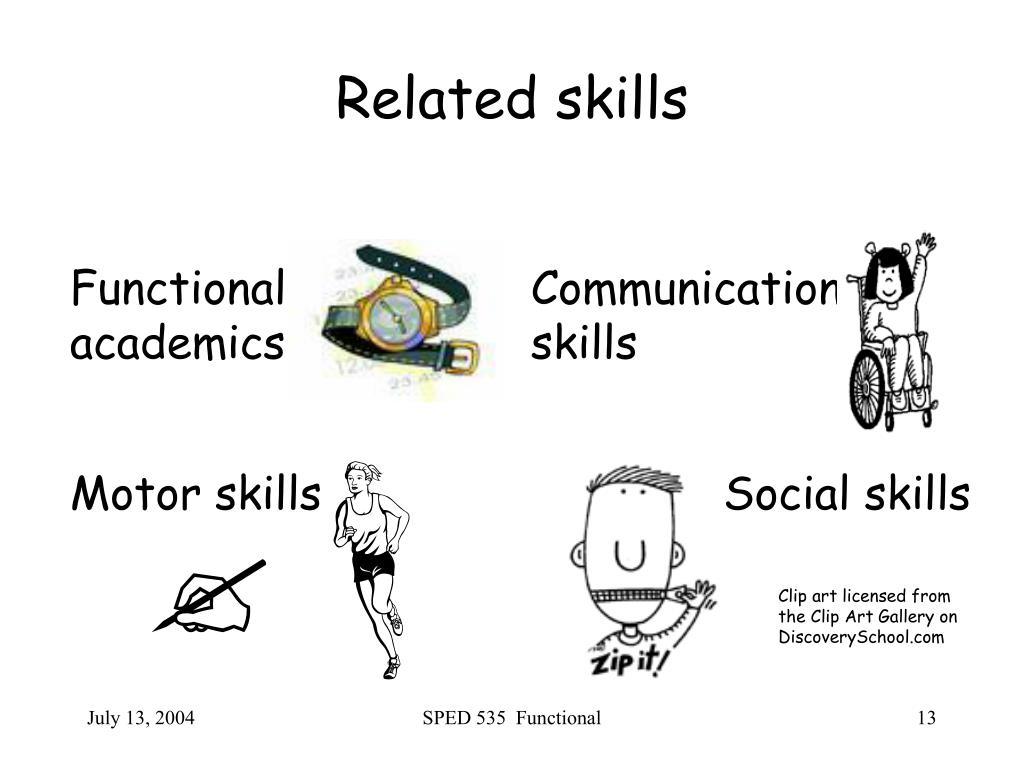 Related skills