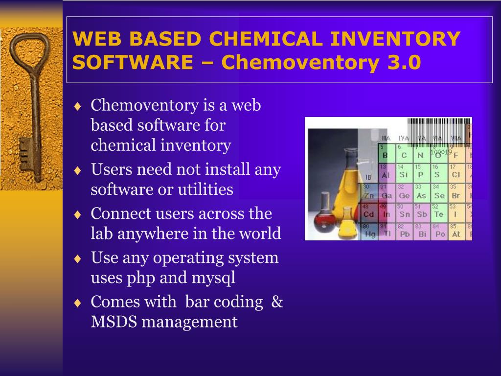 web based chemical inventory software chemoventory 3 0 l.