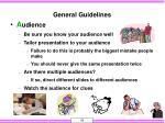 general guidelines10