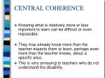 central coherence74