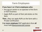 farm employees