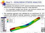 step 3 nonlinear stress analysis10
