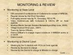 monitoring review