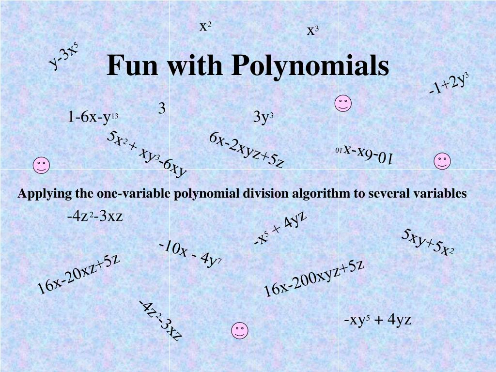 fun with polynomials l.