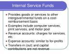 internal service funds