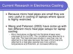 current research in electronics cooling56