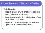 current research in electronics cooling59
