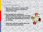 this unit career preparation