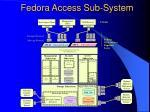 fedora access sub system