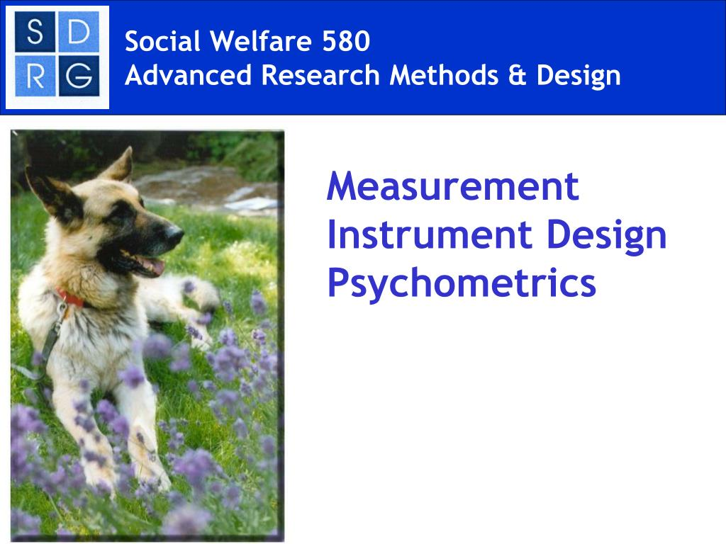 social welfare 580 advanced research methods design l.