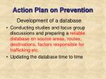 action plan on prevention