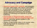 advocacy and campaign