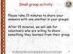 small group activity26