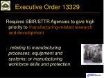 executive order 13329