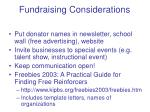 fundraising considerations7