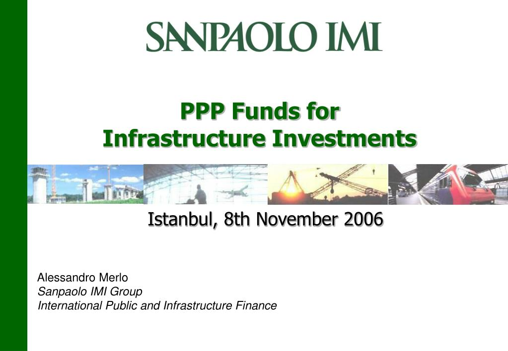 ppp funds for infrastructure investments l.