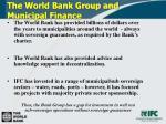 the world bank group and municipal finance