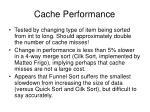cache performance11