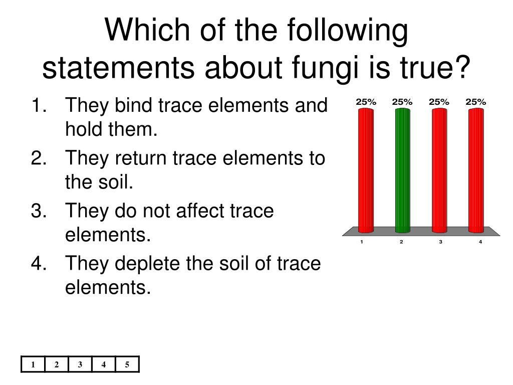 Which of the following statements about fungi is true?