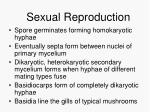 sexual reproduction69