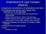 amphotericin b lipid complex abelcet